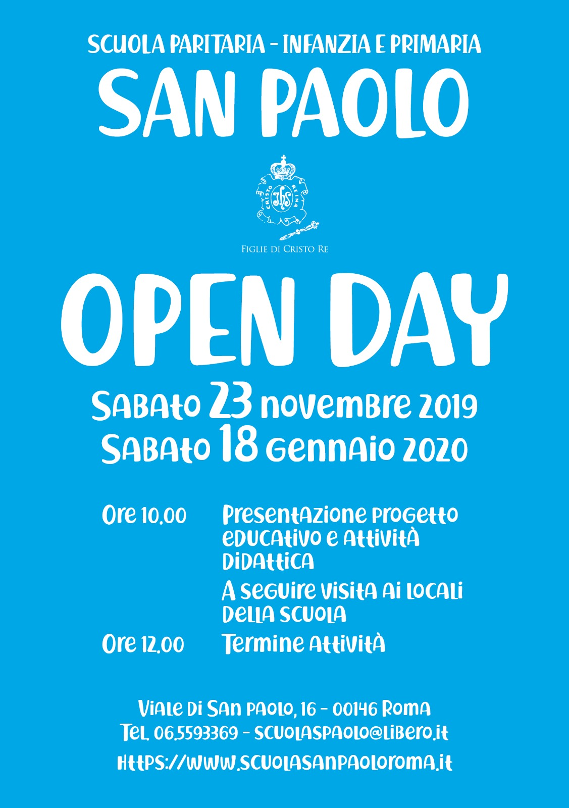 Open Day 2019 2020